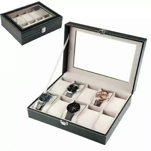 Sieraden display 10 horloges